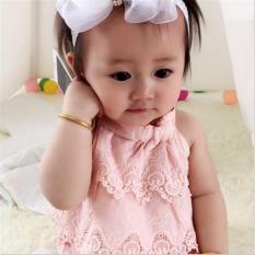 Body tam giác ren cho bé gái 3-13kg – Màu: Trắng, Hồng