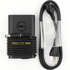 Sạc laptop Dell oval 19.5V-3.34A 65W bản gốc bóc máy