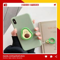 Giá đỡ điện thoại iRing Poc đa năng hình quả bơ siêu kute thiết kế hình nhẫn độc đáo có thể thu gọn Dudi Store