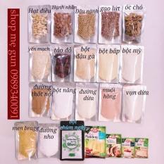 Hạt dinh dưỡng ăn dặm cho bé, nấu cháo, làm sữa hạt