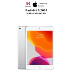 Máy Tính Bảng iPad Mini 5 (2019) 7.9 inch – Wifi + Cellular(4G) – Hàng Chính Hãng Việt Nam – Mới 100% (Chưa Kích Hoạt) – Trả Góp 0% – Màn hình Retina True Tone Tương Thích Apple Pencil Thế Hệ 1- Chip A12 Bionic Mạnh Mẽ – Hệ điều hành iPadOS