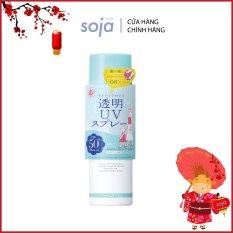 Xịt chống nắng Shigaisen Yohou Transparent Uv Spray SPF 50 PA++++