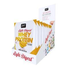Combo 12 gói Bột Whey Protein có BCAA hương Chuối QNT 40g