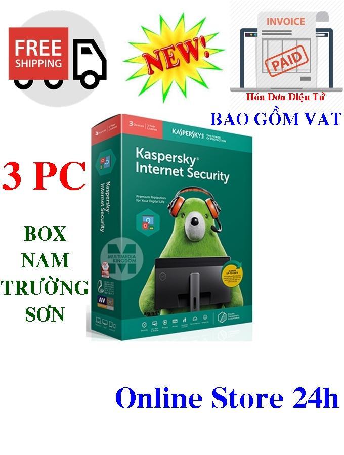 KASPERSKY INTERNET SECURITY 3PC/Năm - 2019