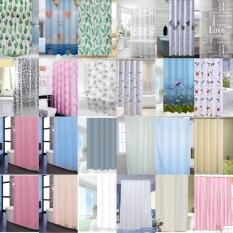 [HCM]Rèm phòng tắm chống nước 1.8m có kèm móc vải PEVA siêu rẻ