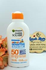 Lotion chống nắng trẻ em Garnier Ambre Solaire SPF50+ 200ML – Pháp