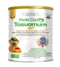 TASUAMUM PEDIA COOL 900g cho trẻ từ 6 tháng – 6 tuổi, trẻ biếng ăn, chậm lớn, suy dinh dưỡng, thấp còii