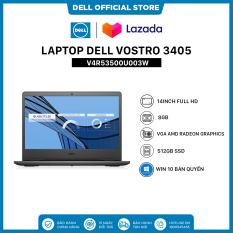 [TRẢ GÓP 0%]Laptop Dell Vostro 3405 (V4R53500U003W) AMD Ryzen R5-3500U 14inch FullHD Ram 8GB DDR4 512GB SSD VGA AMD Radeon Graphics Win 10 Bản Quyền