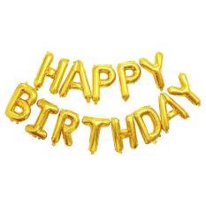 Bộ Bóng Chữ Happy Birthday Màu Vàng ( Giá Sỉ)
