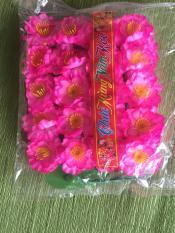 Combo 5 bịch hoa đào giả trang trí 1 bịch có 36 hoa
