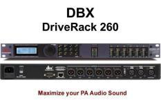 Driver rack PA 260 DBX