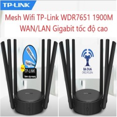 Bộ Phát Wifi Mesh Wifi ghép nối Gigabit Tplink TP-Link WDR7651 1900Mbps