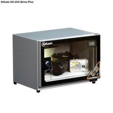 Tủ chống ẩm cao cấp Nikatei NC-20C Silver Plus (dung tích 20 lít, màu bạc nhũ)