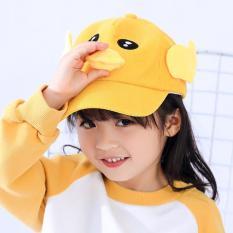 Mũ lưỡi trai vịt phát tiếng kêu cho bé trai bé gái từ 1 đến 7 tuổi hàng Quảng Châu vải nhung 5 màu