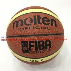 Bóng rổ số 7 Molten GG7 / GL7 FIBA da PU cao cấp Tặng kim bơm, túi lưới