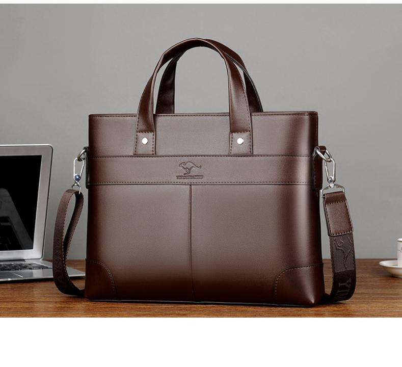 Túi xách công sở nam, Cặp da nam đựng Laptop, Túi đeo chéo công sở cao cấp