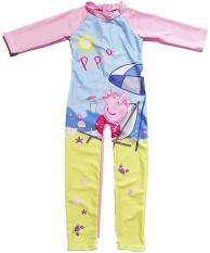 Đồ bơi bé gái liền thân hình công chúa nhân vật hoạt hình (dài tay)