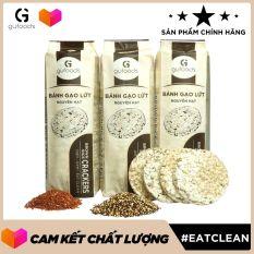 Bánh gạo lứt hạt quinoa ăn kiêng GUfoods (510g)