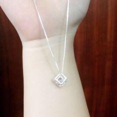 Dây chuyền bạc 925 Ý nữ phong cách Hàn Quốc sale giá cực rẻ