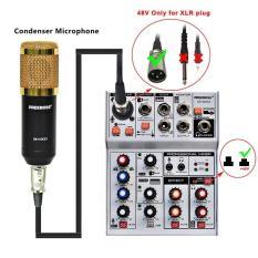 MIXER TÍCH HỢP SOUNDCARD THU ÂM LIVESTREAM KT-UPC-CÓ BLUETOOTH-USB CA O CẤP