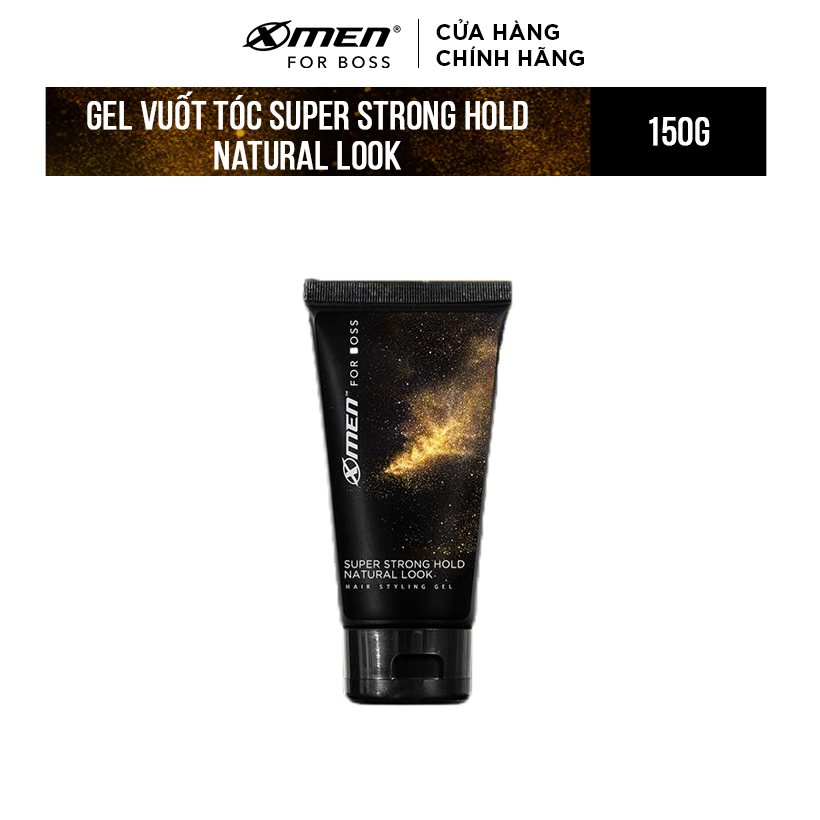 Keo vuốt tóc X-Men For Boss Gel SUPER STRONG HOLD NATURAL LOOK 150G