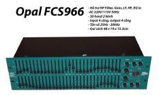 Thiết bị lọc âm thanh Equalizer Opal FCS-966