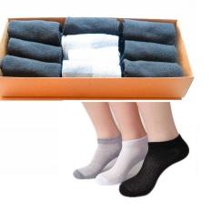 [Nhập ELMAR31 giảm 10% tối đa 200k đơn từ 99k]Hộp 10 đôi vớ NỮ Nhật bản thông khí loại dày – chất liệu 95% vải cotton / Vớ khử mùi hôi chân / tất quà tặng / vớ nam / tất nam coton / vớ khử mùi hôi chân -SZ2011009