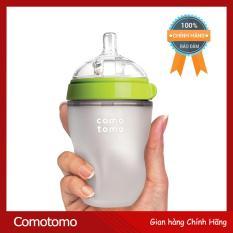 Bình sữa COMOTOMO 250ml ml Xanh (Hãng phân phối chính thức)