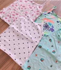 Combo 5 áo hai dây bé gái size 4 từ 14-17kg