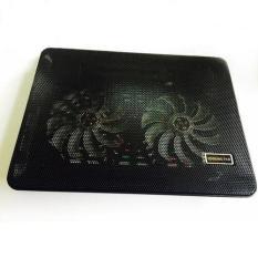 Đế Tản Nhiệt Cho Laptop 2 Quạt ( Có Đèn Led ) – SIÊU NHẸ – SIÊU BỀN, Phù Hợp Cho Tất Cả Các Loại Laptop