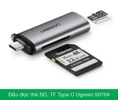 Đầu đọc thẻ đa năng SD/TF USB type-C Ugreen 50704 – 50704