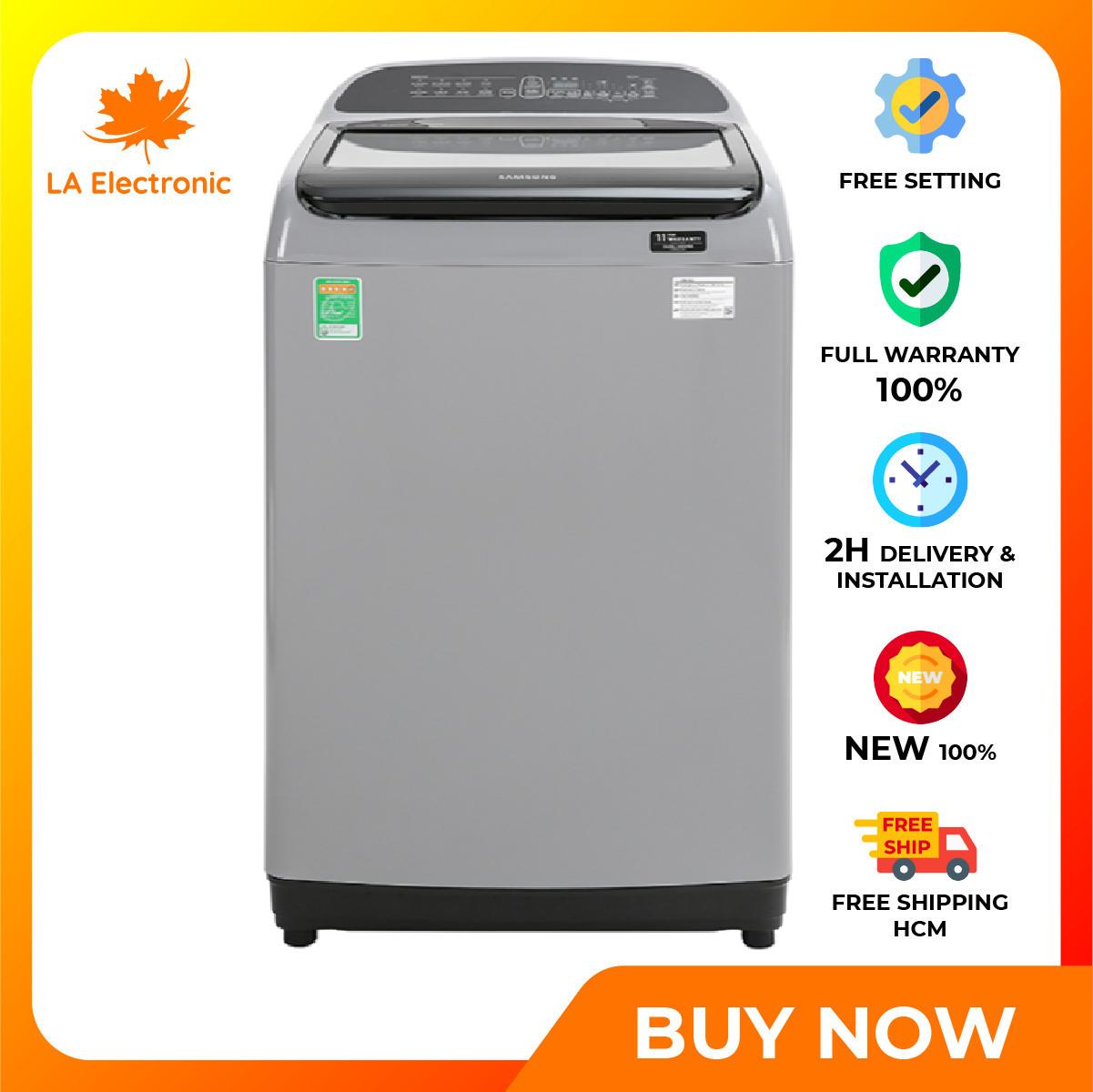 [GIAO HÀNG 2 – 15 NGÀY TRỄ NHẤT 15.09] Trả Góp 0% – Máy giặt – Samsung Inverter washing machine 8.5 kg WA85T5160BY/SV thiết kế thông minh công nghệ hiện đại hoạt động mạnh mẽ và bền bỉ có chế độ bảo hành và xuất xứ rõ ràng – Miễn phí vận chuyển HCM