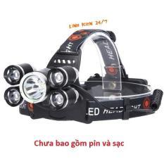 Đèn Pin Đội Đầu LED Siêu Sáng 4 Chế Độ