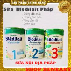 [ FREESHIP- MẪU MỚI]Sữa Bledina số 1, số 2, số 3 nội địa Pháp (900g), sữa cho bé ăn dặm, sữa số 1 nước pháp., sữa phát triển toàn diện cho bé