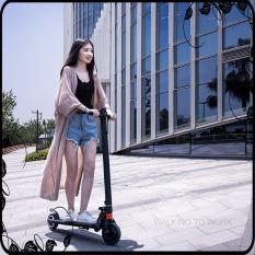 Xe scooter điện S8 không yên, có thể gấp gọn thanh thiếu niên nam nữ đi làm đi học tiện lợi, 10km/1 lần sạc, tải trọng 100kg