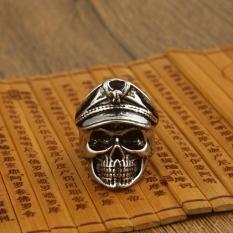 Nhẫn nam họa tiết đầu lâu thủy thủ bí ẩn cực ngầu