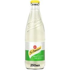 Schweppes Taste of Classic Mojito 250ml – Nước ngọt có ga vị cocktail cổ điển SCHWEPPES 250ml