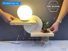Đèn Tường Kệ Gỗ Chao Thủy Tinh Hiện Đại DT-3639 – Trang Trí Căn Phòng – Energy Green Lighting – Đã Bao Gồm Bóng LED 3W – Có Video thực tế