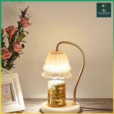 Đèn Đốt Nến Thơm – Warmer Candles GU10 35W – Phong cách Hàn Quốc, có núm chỉnh độ sáng