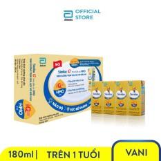 Thùng 48 hộp sữa nước Similac Eye-Q 4 180ml trẻ từ 1 tuổi đề kháng vượt trội phát triển trí não