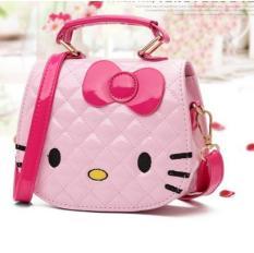 Túi đeo chéo mèo HELO KITxinh xắn dành cho bé yêu
