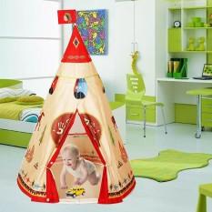 Lều vải họa tiết thổ dân Da Đỏ nhiều màu sắc cho các bé vui chơi sáng tạo