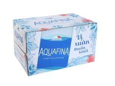 Thùng Nước Suối 24 Chai Nước Tinh Khiết Aquafina 500ml