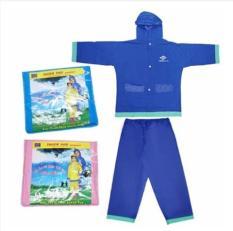 Áo mưa bộ size 5 cho bé từ 8-10 tuổi-siêu bền-chống thấm tốt