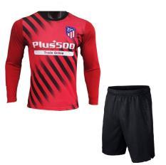 Áo bóng đá nam 2019 CLB Atlentico Dài tay (Đỏ) Mẫu mới chính thức 2019 Mùa giải mới Hàng thun lạnh xịn VNXK