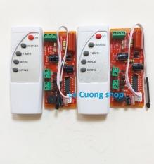 (mạch đỏ) Combo 2 bộ Mạch điều khiển từ xa cho quạt -Bộ mạch và điều khiển từ xa dành cho quạt bàn, quạt treo tường, quạt cây…biến quạt thường thành quạt điều khiển từ xa.