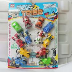 Bộ đồ chơi xe công trình xe đua có ga giúp bé phát triển trí tuệ Diệp Linh