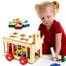 Trò chơi xe kéo thả hình cho bé