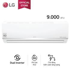 Máy lạnh LG Inverter V10ENW 1HP (Trắng) tiết kiệm điện, Jet-Cool làm lạnh nhanh, chế độ vận hành khi ngủ, chức năng tự làm sạch – Bảo hành 2 năm – Phân phối chính hãng