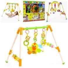 Kệ Con Vẹt Chữ A Kèm Nhặc Dành Cho Bé – đồ chơi cho bé sơ sinh có nhạc nhựa đẹp – dụng cụ treo nôi – đồ chơi phát nhạc cho bé – đồ chơi – đồ chơi giải trí – đồ chơi nhạc cụ – đồ chơi cho trẻ sơ sinh & trẻ nhỏ – giáo dục đầu đời
